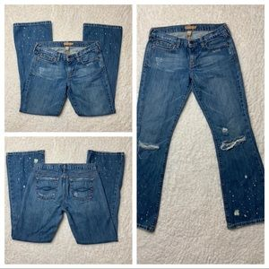Abercrombie & Fitch Distressed Jeans 4 Short